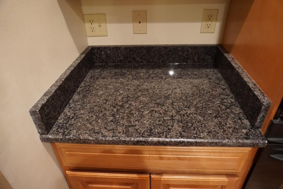 Granite countertop with under mount sink in Chambersburg, PA