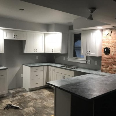 soapstone kitchen counter